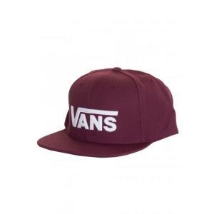 ヴァンズ Vans ユニセックス キャップ 帽子 - Drop V II Port Royale - Cap burgundy|fermart-hobby