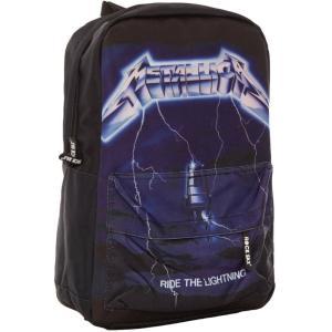 メタリカ Metallica ユニセックス バックパック・リュック バッグ Ride The Lightning Backpack black|fermart-hobby