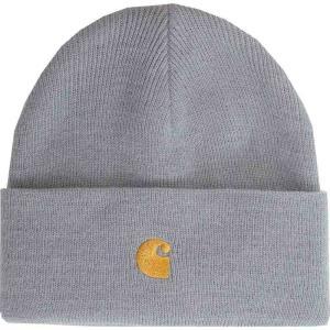 カーハート Carhartt WIP ユニセックス ニット ビーニー 帽子 - Chase Cloudy/Gold - Beanie blue|fermart-hobby
