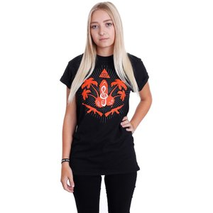 キッズ K.I.Z. レディース Tシャツ トップス Taka Tuka Ultras T-Shirt black|fermart-hobby