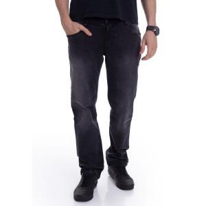 アーバンクラシックス Urban Classics メンズ ジーンズ・デニム ボトムス・パンツ - Relaxed Fit Real Black Washed - Jeans black fermart-hobby