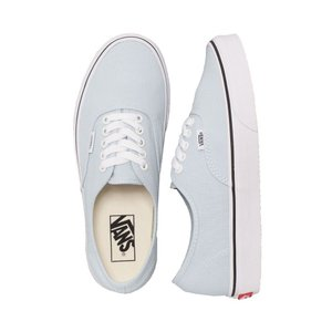 ヴァンズ Vans レディース スニーカー シューズ・靴 Authentic Baby Blue/True White Shoes blue|fermart-hobby
