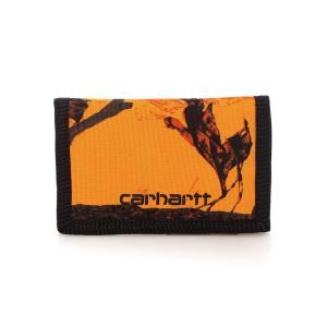 カーハート Carhartt WIP ユニセックス 財布 - Payton Camo Tree/Orange/Black - Wallet orange|fermart-hobby