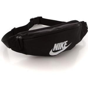 ナイキ Nike ユニセックス ボディバッグ・ウエストポーチ バッグ Heritage Black/Black/White Hip Bag black|fermart-hobby