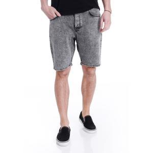 ドクターデニム Dr. Denim メンズ ショートパンツ ボトムス・パンツ Bay Grey Retro Stone Shorts grey|fermart-hobby