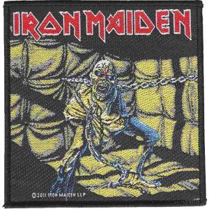 アイアン メイデン Iron Maiden ユニセックス 雑貨 Piece Of Mind Patch black|fermart-hobby