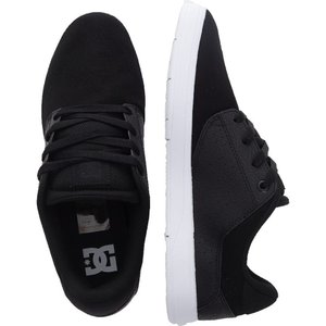 ディーシー DC メンズ スケートボード シューズ・靴 - Plaza TC TX Black/Black/White - Shoes black|fermart-hobby