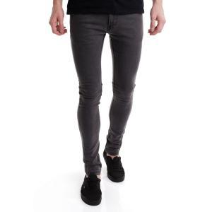 リール REELL メンズ ジーンズ・デニム ボトムス・パンツ Radar Stretch Grey Jeans grey|fermart-hobby