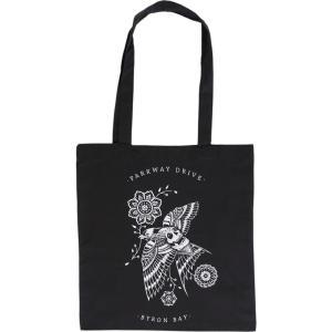 パークウェイ ドライヴ Parkway Drive ユニセックス トートバッグ バッグ Sneaky Swallow Tote Bag black|fermart-hobby
