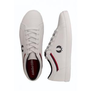 フレッドペリー Fred Perry メンズ スニーカー シューズ・靴 - Baseline Canvas White - Shoes white|fermart-hobby