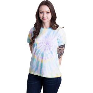 アーバンクラシックス Urban Classics レディース Tシャツ トップス - Tie Dye Boyfriend Pastel - T-Shirt multicolored fermart-hobby