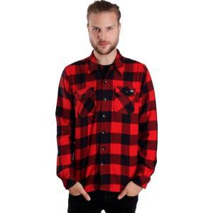 ディッキーズ Dickies メンズ シャツ トップス - Sacramento L/S Red - Shirt red fermart-hobby
