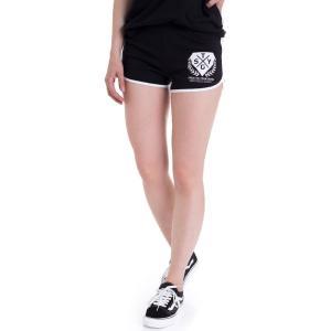 スティックトゥーユアガンズ Stick To Your Guns レディース ショートパンツ ボトムス・パンツ New Hope Black/White Hotpants black|fermart-hobby