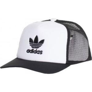 アディダス Adidas ユニセックス キャップ 帽子 - Adicolor Trucke Black/White - Cap black|fermart-hobby