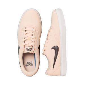 ナイキ Nike レディース スニーカー シューズ・靴 SB Check Solar Canvas Washed Coral/Thunder Grey/White Shoes pink|fermart-hobby