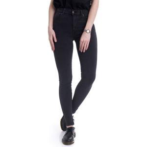 ドクターデニム Dr. Denim レディース ジーンズ・デニム ボトムス・パンツ Lexy Old Black Jeans grey|fermart-hobby