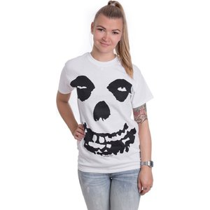 インペリコン Impericon レディース Tシャツ トップス - All Over Skull White - T-Shirt white|fermart-hobby