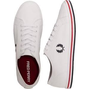 フレッドペリー Fred Perry メンズ スニーカー シューズ・靴 - Kingston Twill White - Shoes white|fermart-hobby