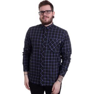 カーハート Carhartt WIP メンズ シャツ トップス - Lanark L/S Lanark Check/Bottle Green - Shirt blue|fermart-hobby