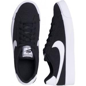 ナイキ Nike レディース スニーカー シューズ・靴 - Court Royale AC Canvas Black/White black|fermart-hobby