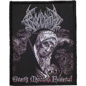 ブラッドバス Bloodbath ユニセックス 雑貨 Grand Morbid Funeral Patch black|fermart-hobby