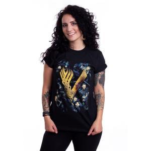 インペリコン Impericon レディース Tシャツ トップス - Fight - T-Shirt black|fermart-hobby