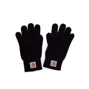 カーハート Carhartt WIP ユニセックス 手袋・グローブ - Watch Black - Gloves black|fermart-hobby