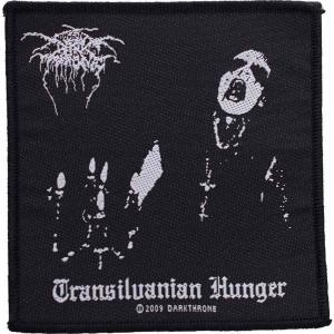 ダークスローン Darkthrone ユニセックス 雑貨 Transilvanian Hunger Patch black|fermart-hobby