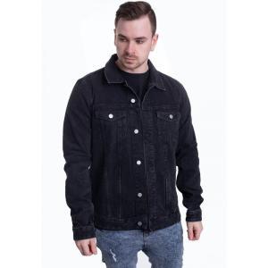 ドクターデニム Dr. Denim メンズ ジャケット アウター - Roy Trucker Night Workers Black - Jeans Jacket black|fermart-hobby