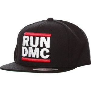RUN DMC ユニセックス キャップ 帽子 Logo Cap black|fermart-hobby
