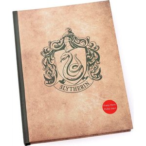 ハリー ポッター Harry Potter グッズ - Slytherin Light Up - Notebook beige|fermart-hobby