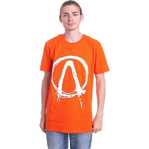 インペリコン Impericon メンズ Tシャツ トップス - Dripping Logo Orange - T-Shirt orange|fermart-hobby