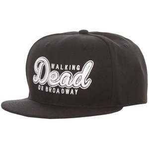ウォーキング デッド オン ブロードウェイ Walking Dead On Broadway ユニセックス キャップ 帽子 Script Cap black|fermart-hobby