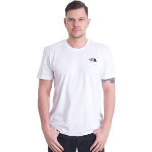 ザ ノースフェイス The North Face メンズ Tシャツ トップス Simple Dome White T-Shirt white|fermart-hobby