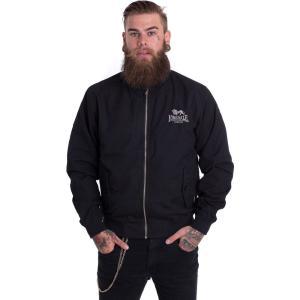 ロンズデール Lonsdale メンズ ジャケット アウター Classic Jacket black|fermart-hobby