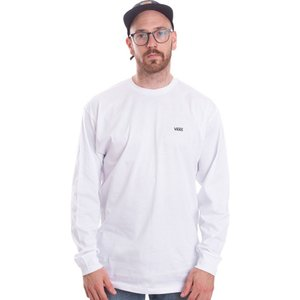 ヴァンズ Vans メンズ トップス - Left Chest Hit White/Black - Longsleeve white|fermart-hobby