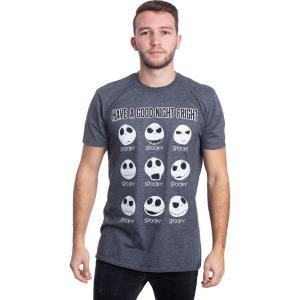 インペリコン Impericon メンズ Tシャツ トップス - Have A Good Night Fright Dark Heather - T-Shirt grey|fermart-hobby