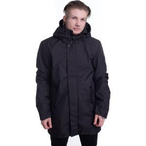 アーバンクラシックス Urban Classics メンズ ジャケット フード アウター - Hooded Long Black - Jacket black fermart-hobby