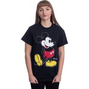インペリコン Impericon レディース Tシャツ トップス Disney - Mickey Kick - T-Shirt black|fermart-hobby