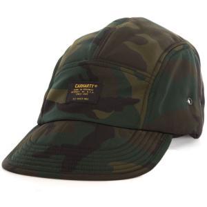 カーハート Carhartt WIP ユニセックス キャップ 帽子 Military Logo Camo Combat Green Cap camouflage|fermart-hobby