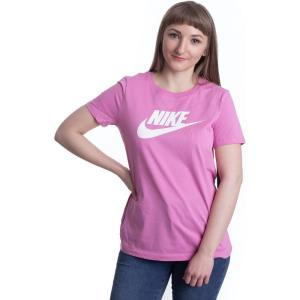 ナイキ Nike レディース Tシャツ トップス - Sportswear Essential Magic Flamingo/White pink|fermart-hobby