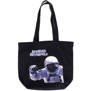 アヴェンジド セヴンフォールド Avenged Sevenfold ユニセックス トートバッグ バッグ Astronaut Tote Bag black|fermart-hobby
