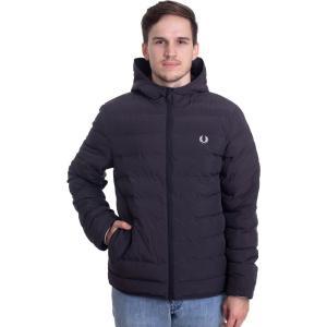 フレッドペリー Fred Perry メンズ ジャケット フード アウター - Insulated Hooded Black - Jacket black|fermart-hobby