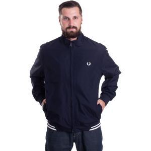 フレッドペリー Fred Perry メンズ ジャケット アウター - Twin Tipped Sports Navy - Jacket blue|fermart-hobby