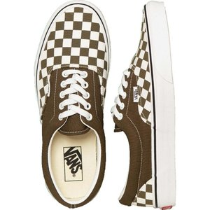 ヴァンズ Vans メンズ スケートボード シューズ・靴 - Era Checkerboard Beech/True White - Shoes green|fermart-hobby