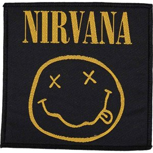 ニルヴァーナ Nirvana ユニセックス 雑貨 Smiley Patch black|fermart-hobby