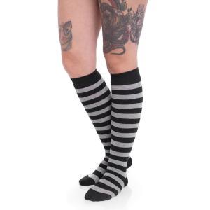 アーバンクラシックス Urban Classics ユニセックス ソックス インナー・下着 Striped Black/Charcoal Socks black|fermart-hobby
