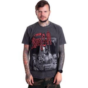 インペリコン Impericon メンズ Tシャツ トップス - Scream Bloody Gore Vintage Wash - T-Shirt grey|fermart-hobby
