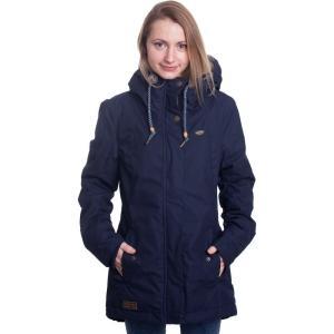 ラグウェア Ragwear レディース ジャケット アウター Monade Navy Jacket blue|fermart-hobby