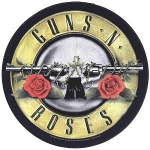 ガンズ アンド ローゼズ Guns N' Roses ユニセックス 雑貨 Logo Backpatch black|fermart-hobby